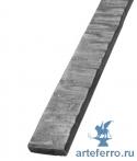 Поручень кованый с рельефной поверхностью 40х8мм, L 3000мм
