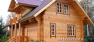 Деревянный коттедж под ключ – правильный выбор