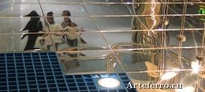 Зеркальная плитка – современный элемент декора