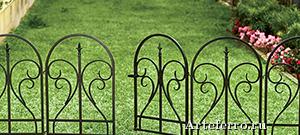 Газонные ограждения – стильный элемент ландшафтного дизайна