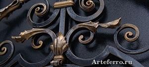 Использование кованых элементов в художественной ковке