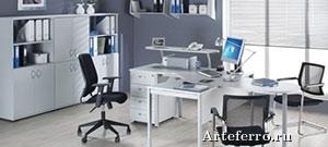 Офисная мебель на металлокаркасе