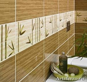 Foto-keramicheskoj-plitki-stebli-bambuka