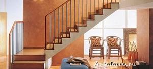 Технологии отделки бетонной лестницы деревом