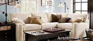 Мягкая мебель в интерьере: ее расположение и уход за ней