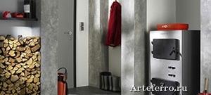 Отопление в доме с помощью пиролизного котла