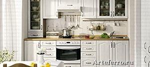 Размещение мебели и техники на кухне