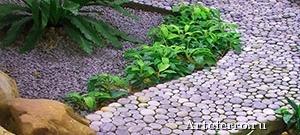 Садовая дорожка - укладка
