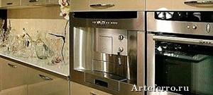 Рациональный подбор бытовой техники в интерьер кухни