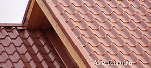 Металлочерепица – надежная «крыша дома своего»