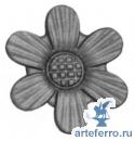 Цветок литье Ø80мм, 4мм