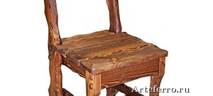 Модные стулья из массива дерева