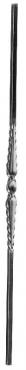 Балясина кованая 14x14мм, H1000мм