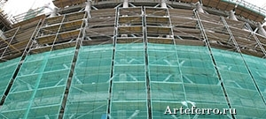Виды фасадной сетки и ее применение