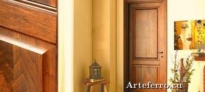 Достоинства межкомнатных дверей из шпона