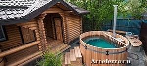 Как самостоятельно построить фундамент для бани?