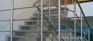 Как выбрать лестничные ограждения из нержавеющей стали, виды и характеристики
