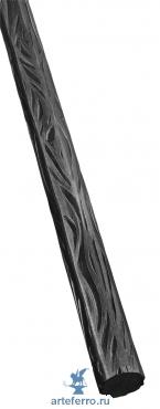 Профиль декоративный Ø14мм с фактурой коры дерева, L 3000мм