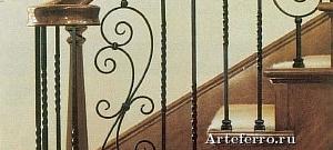 Ковка оград и ограждений из элементов Артеферро