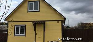 Строительство домов из бруса: современные технологии