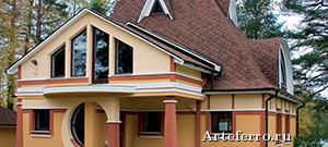 Отделка фасада частного дома. 4 самых популярных решений