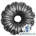 Цветок литье с отв. Ø16мм, 90х3мм