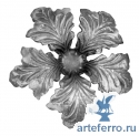 Цветок литье Ø130мм, 4мм