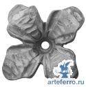 Цветок кованый 85х85х4мм