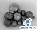Шар металлический пустотелый Ø70мм с отверстием 10мм, толщина 2мм