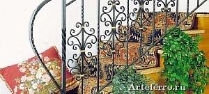 Лестницы, балясины и предметы интерьера - ковка художественная