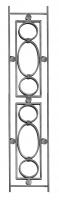 Балясина кованая 14х8мм, L 210мм, Н 1000мм