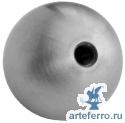 Полная сфера Ø60 мм с глухим отверстием с резьбой М10