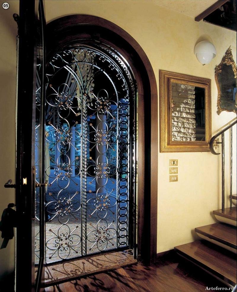 Художественная ковка  двери