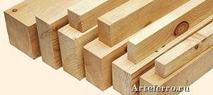 Обрезной брус - основа строительных работ