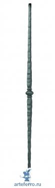 Столб опорный кованый H 1000мм