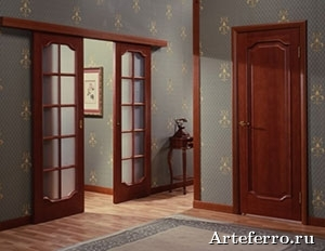 Процесс установки дверей