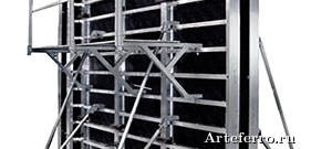 Горизонтальная опалубка монолитных перекрытий
