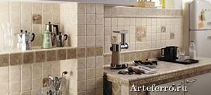 Виды кухонной керамической плитки
