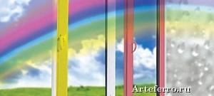 Пластиковые окна: белые или цветные?