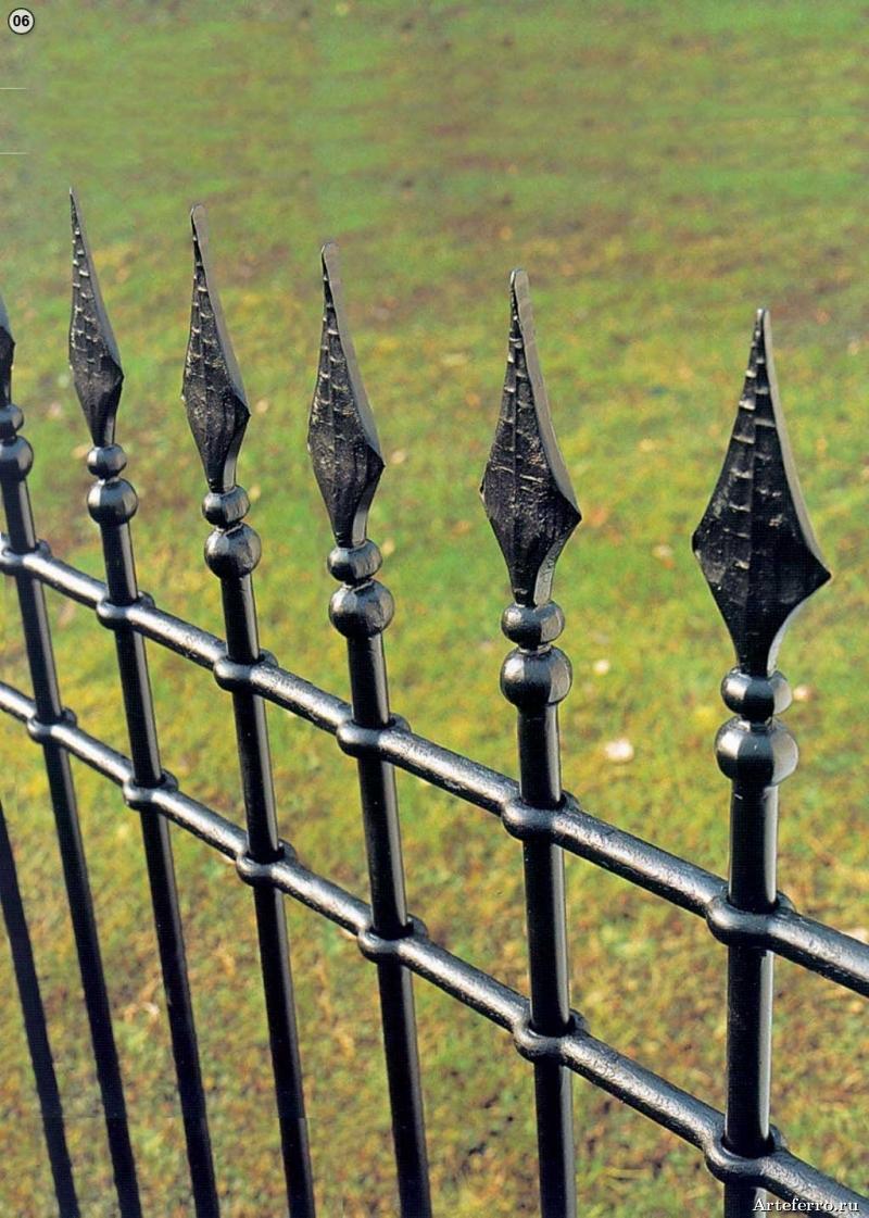 Как сделать пики на забор