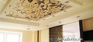 Тканевые натяжные потолки – практичность и изысканность