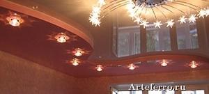 Правила ухода и ремонта за натяжными потолками