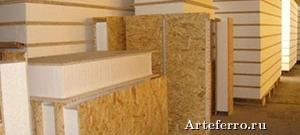 Варианты постройки домов из СИП панелей