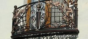 Кованые изделия – завершающий штрих в дизайне строящихся усадьб