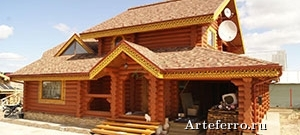 Производство домов ручной рубки