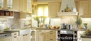 Кухни в стиле кантри – красота и уют