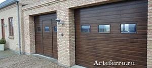 Качественные гаражные ворота в коттедж