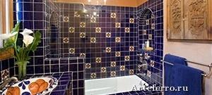 Отделка ванной комнаты: материалы от плитки до обоев