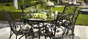 Кованые изделия в интерьере и экстерьере загородного дома