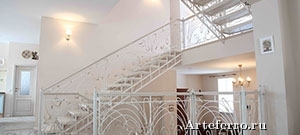 Кованые лестницы от производителя